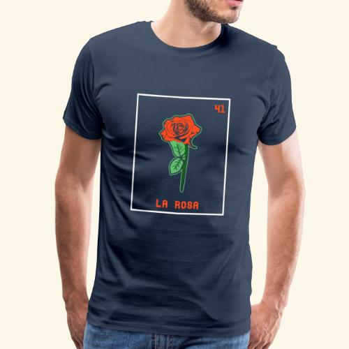 Die Rose I La Rosa - Männer Premium T-Shirt