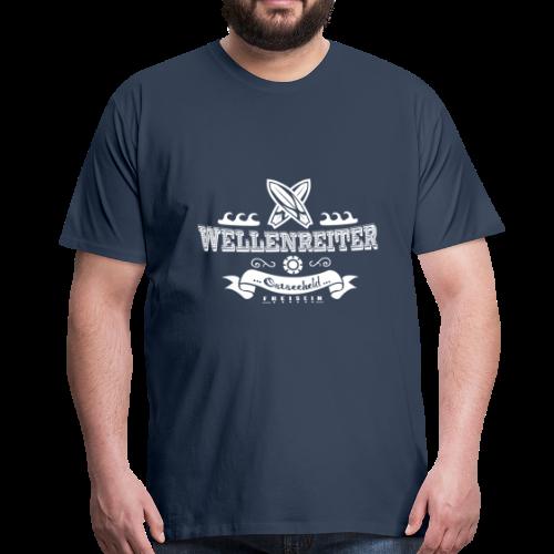 Geweihbaer Wellenreiter - Männer Premium T-Shirt