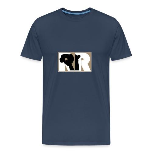 Letter Shape - Männer Premium T-Shirt
