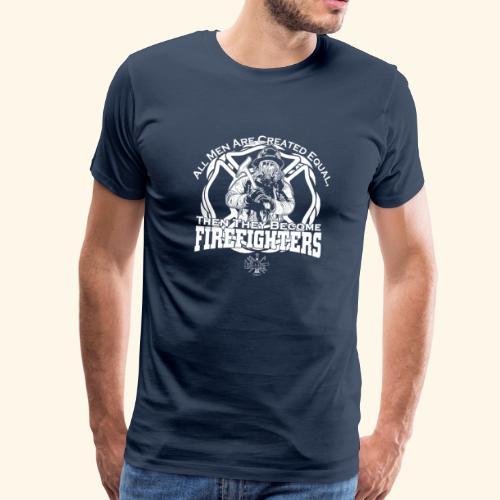 Feuerwehrmann T-Shirt & Geschenk - Männer Premium T-Shirt