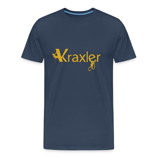 Kraxler, der Tiroler Kletterer - Männer Premium T-Shirt
