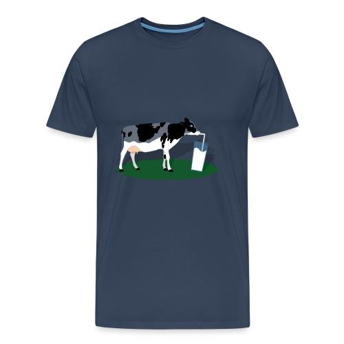 RECHARGING COW - Maglietta Premium da uomo