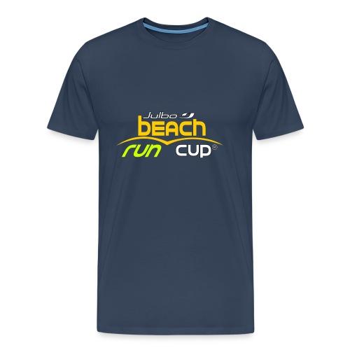 SPREADSHIRT_Atelier_Beach_run_v3_-1- - T-shirt Premium Homme