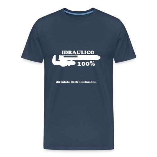 Idraulico 100% - Maglietta Premium da uomo