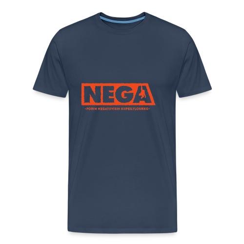 Huppari peruslogo Miehet - Miesten premium t-paita