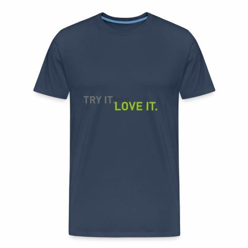 tryfeellove gross - Männer Premium T-Shirt