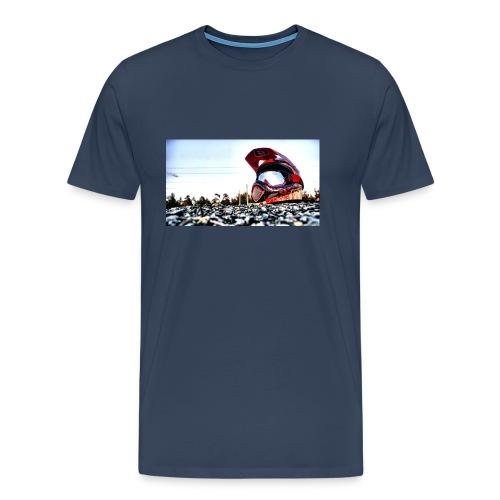 wallpaper casque - T-shirt Premium Homme