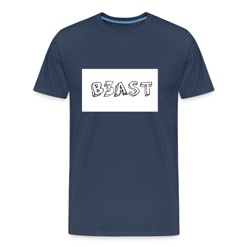 B3AST Mouse Pad - Men's Premium T-Shirt
