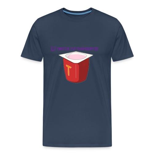 Thanoontje logo backside female - Men's Premium T-Shirt