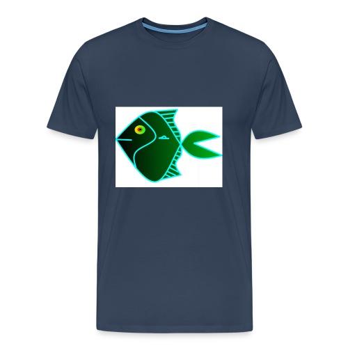 Green anglefish - Mannen Premium T-shirt