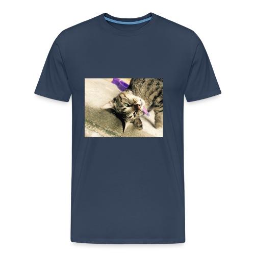 Gatito diseño de almuadilla para ratón - Camiseta premium hombre