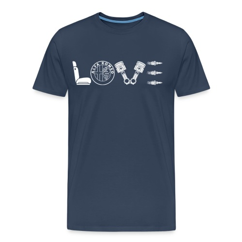 Love Alfa - Maglietta Premium da uomo