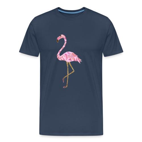 Flamingo triangel - Männer Premium T-Shirt