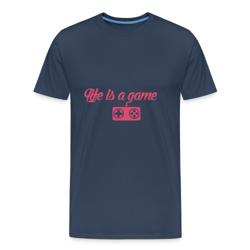 Life is a game (F) - T-shirt Premium Homme