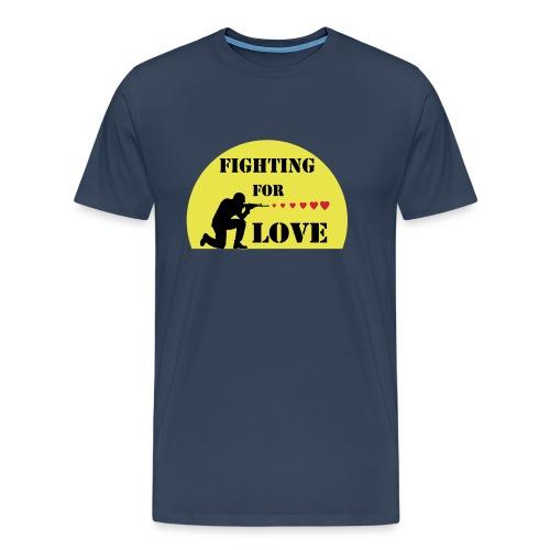 SOLDAT COEURS - T-shirt Premium Homme