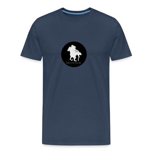 logo_intothehorse - Maglietta Premium da uomo