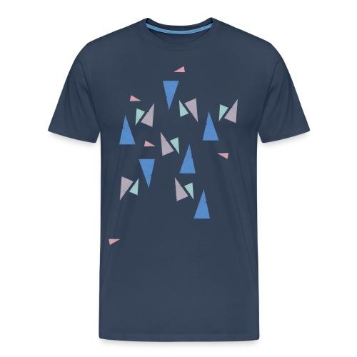 Pattern Blue - Männer Premium T-Shirt