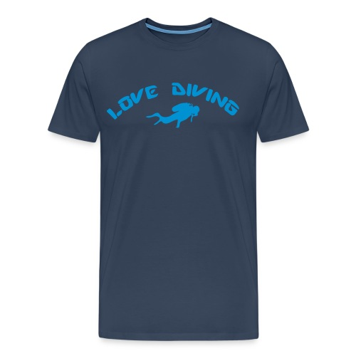 love diving - Männer Premium T-Shirt