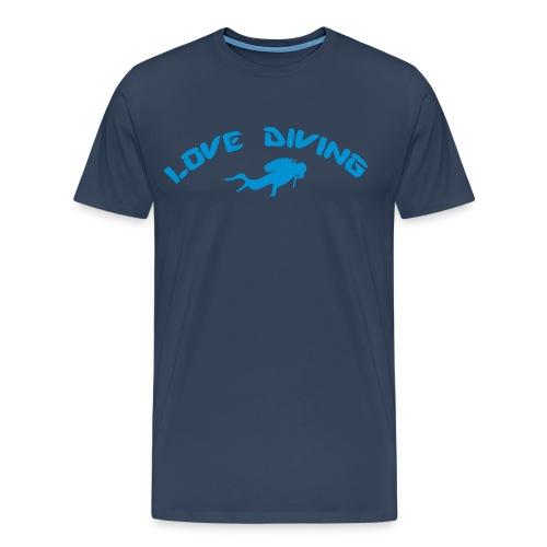 love diving - Männer Premium T-Shirt