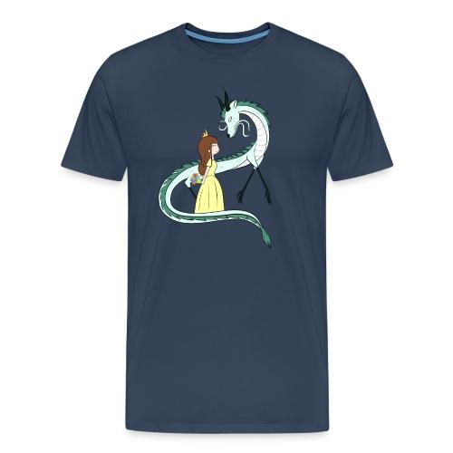 Die Prinzessin und der Drache - Männer Premium T-Shirt