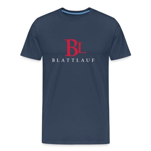 Blattlauf logo - Mannen Premium T-shirt