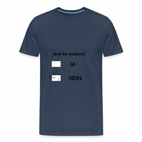 kindisch - Männer Premium T-Shirt