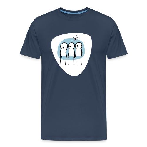 3 dudes - Maglietta Premium da uomo