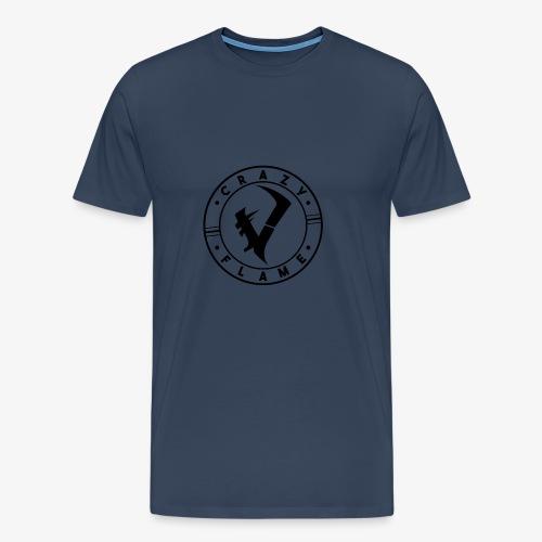 CraZyFlame Kreis Logo - Männer Premium T-Shirt