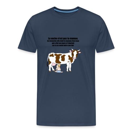 Vache à lait - T-shirt Premium Homme