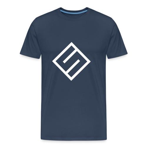 Svart Hettegenser - Premium T-skjorte for menn