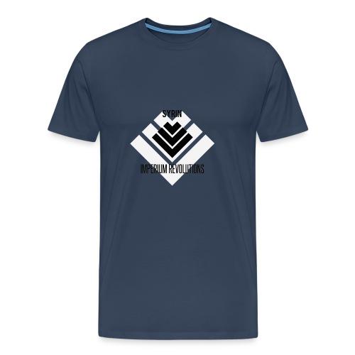 Imperium Revolutions Syrin White - Mannen Premium T-shirt