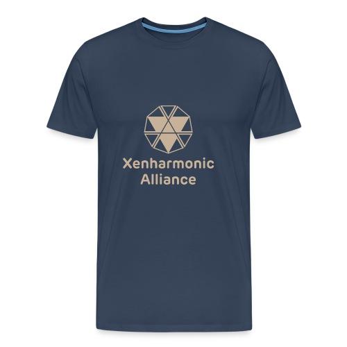 Xenharmonic Aliiance Tan - Men's Premium T-Shirt