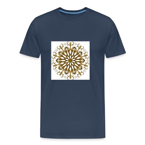 gold-filigree - Männer Premium T-Shirt