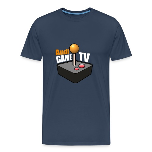 Andi GAME TV (White) - Männer Premium T-Shirt