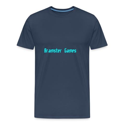 Bramster Games LichtBlauw - Mannen Premium T-shirt