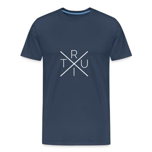 Ruit - Hipster Style - Mannen Premium T-shirt