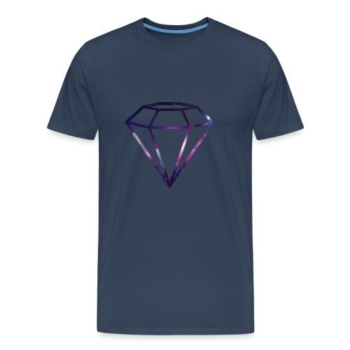 Galaxy Diamond - Premium T-skjorte for menn