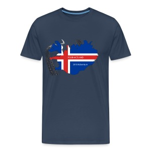 Four4Iceland Adventure - Männer Premium T-Shirt