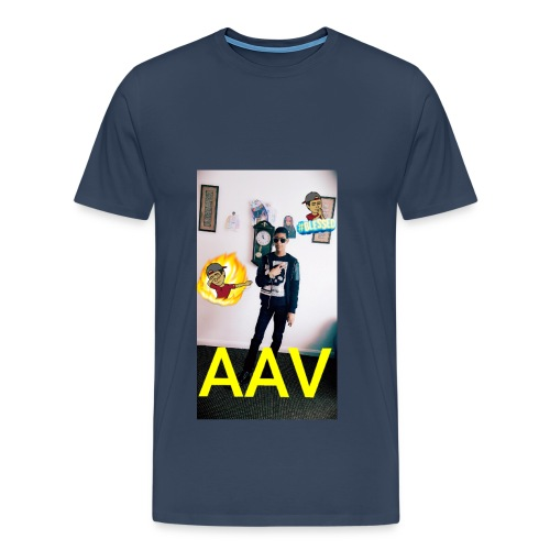 Adam Ali Vlogs Design 1 - Men's Premium T-Shirt