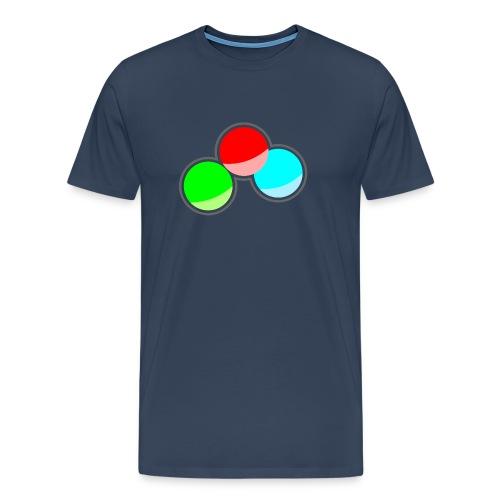 RGB Kreise - Männer Premium T-Shirt