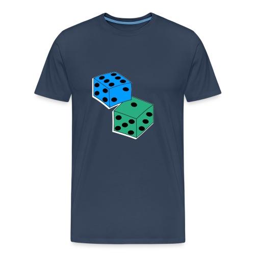 Würfel - Männer Premium T-Shirt