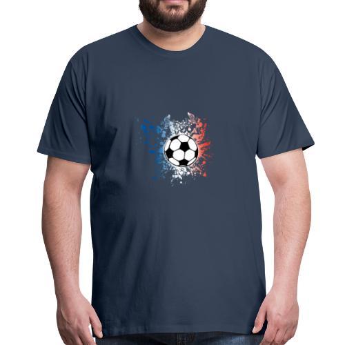 I LOVE France Football Team - T-shirt Premium Homme