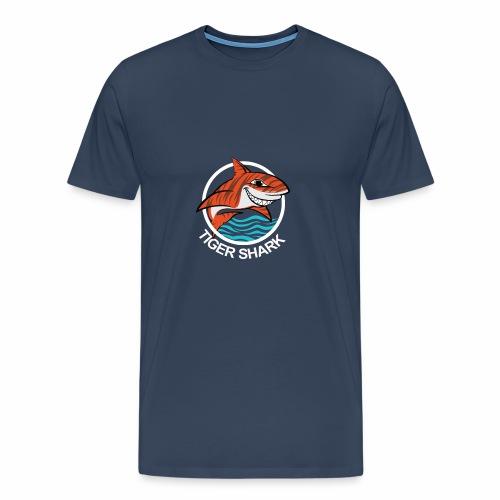 Tigerhai Logo Comic - Männer Premium T-Shirt