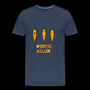 Wortel Killer [Teenager Premium T-Shirt] - Mannen Premium T-shirt