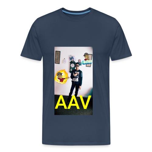 Adam Ali Vlogs Design 1 - Men's Premium T-Shirt