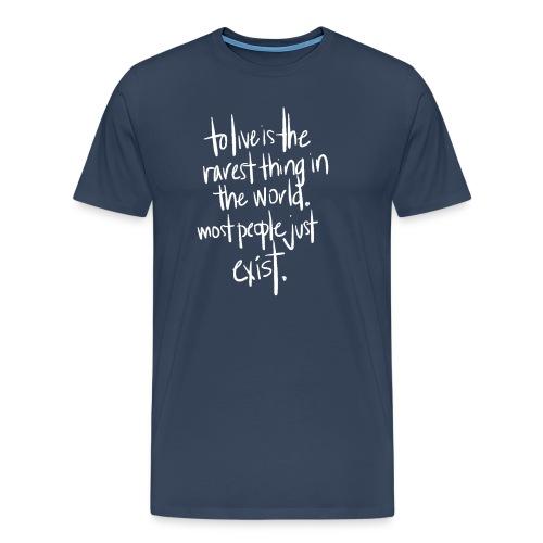 Live! - Mannen Premium T-shirt