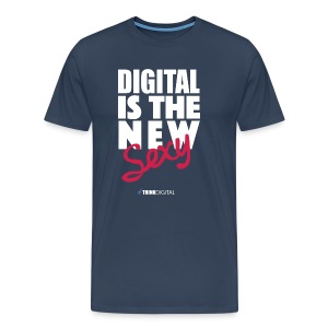 DIGITAL is the New Sexy - Maglietta Premium da uomo