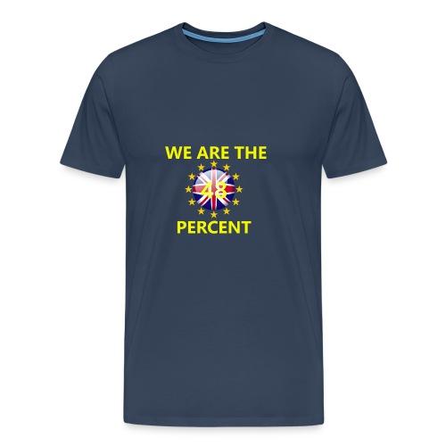 Top WeAreThe48 - Men's Premium T-Shirt