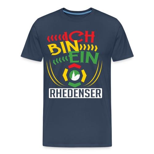 Ich bin ein Rhedenser - Männer Premium T-Shirt
