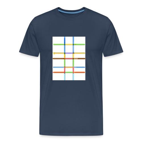 Prankdown2 symbol - Premium-T-shirt herr